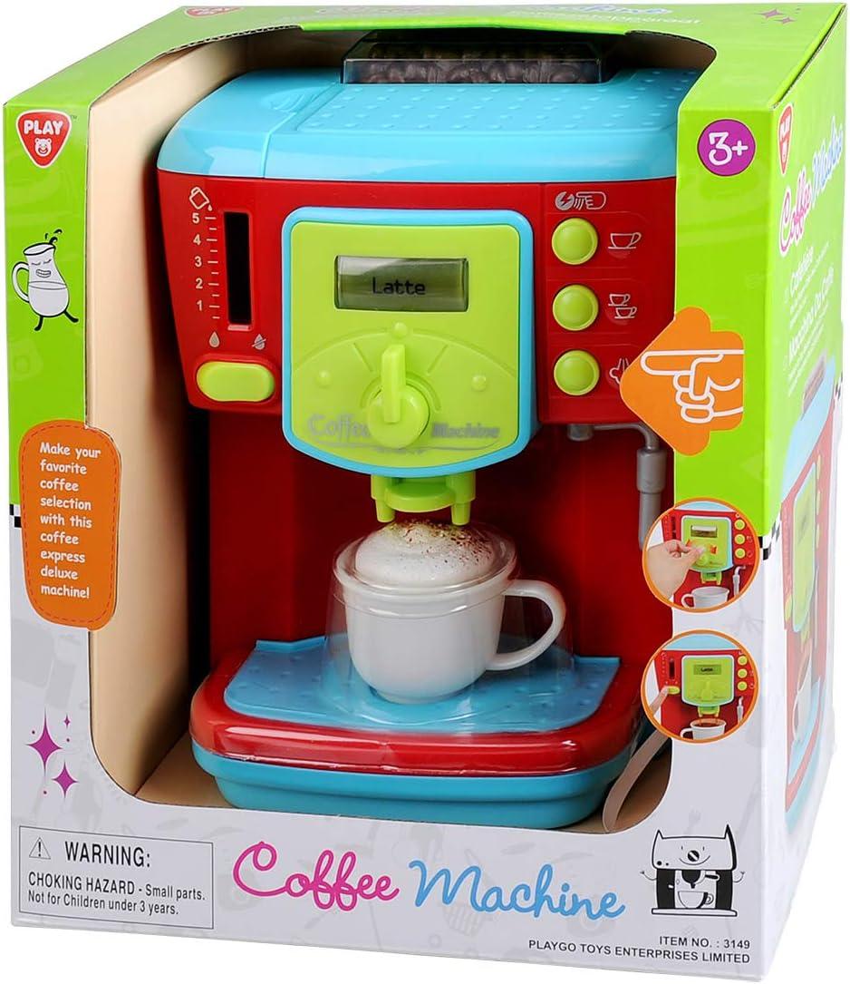 Amazon.com: Playgo – Máquina de café Playhouse: Toys & Games