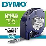 DYMO Letratag Label Tape Metallic Silver