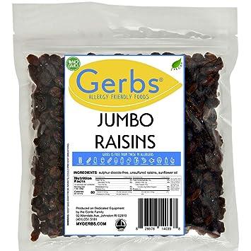 Cranberries de bacalao seco, sin sulfuro por Gerbs – 2 lb ...