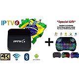 IPTV6+ PLUS Edition 4K Ultra HD HTV6+ possui mais de 200 canais de TV, muitos