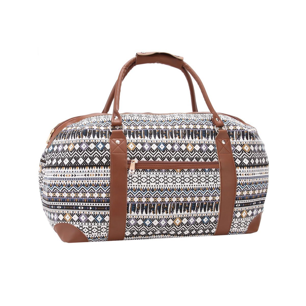 Canvas Travel Holdalls - 30 COLOURS - Weekend Overnight Bags - Medium Size  Holiday Duffle Bag - Ideal Womens Ladies Gym Holdall - Hand Luggage Cabin  Baggage ... 70cb59628