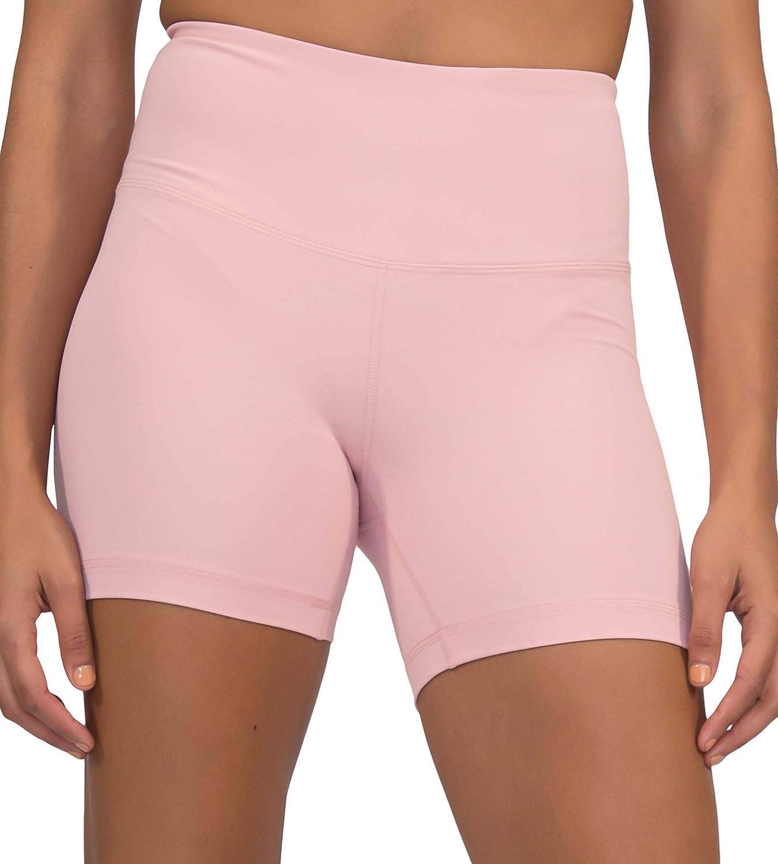 Yogalicious Ultra Soft Lightweight Hi Rise Shorts High Waist Yoga Shorts