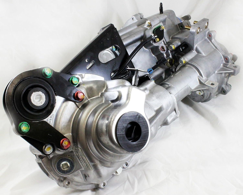 08-14 Polaris RZR 800 S 800//4 800 Rear Differential Gear Case COMPLETE Bear...