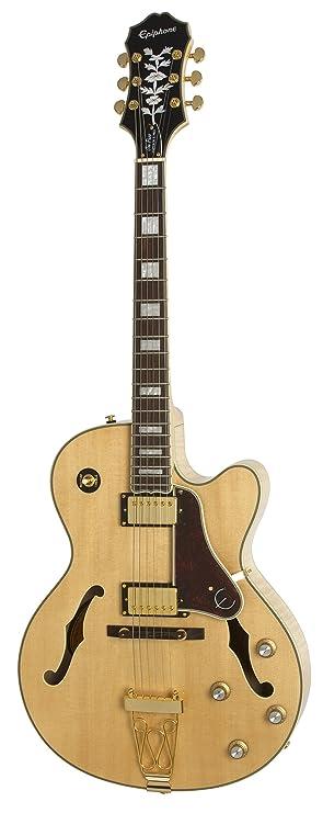Epiphone Joe Pass Emperor-II PRO - Guitarra eléctrica, color vintage sunburst: Amazon.es: Instrumentos musicales