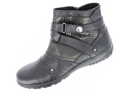 06f13ac48f4 Sagone Chaussures CORBE NOIR - noir  Amazon.fr  Chaussures et Sacs