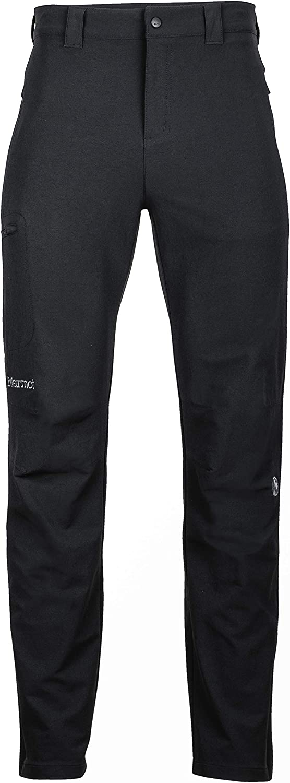 Transpirable Pantalones de Senderismo Hombre Marmot Scree Pant Pantalones Monta/ña Softshell Repelente al Agua