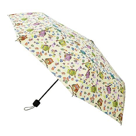 Signare Paraguas Mango de Goma en el diseño Gufo