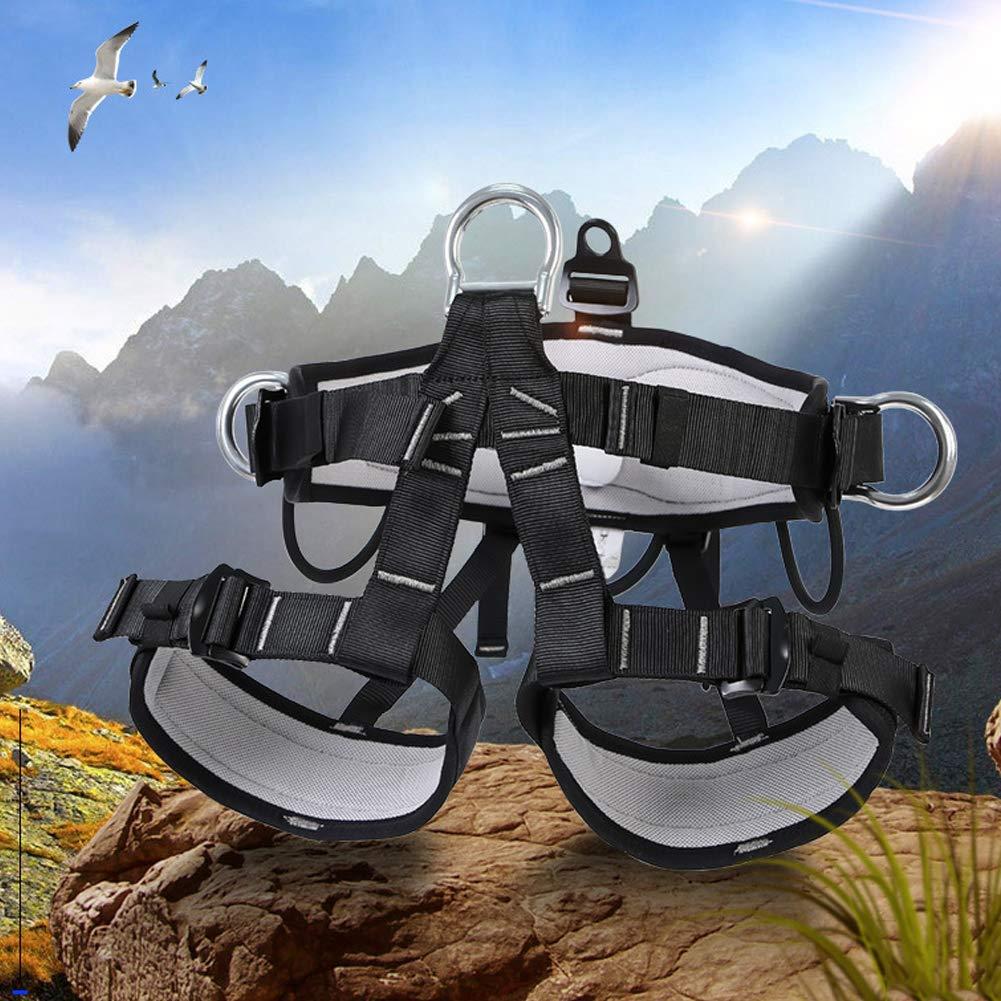 Climbing Safety Belt, Outdoor Climbing Rescue Belt Downhill Safety Half Body Harness high Altitude Belt Belt by HENRYY (Image #5)