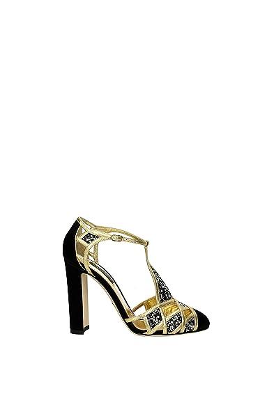 Dolce  Gabbana Sandalen Damen   Satin (CD0452AD401) EU