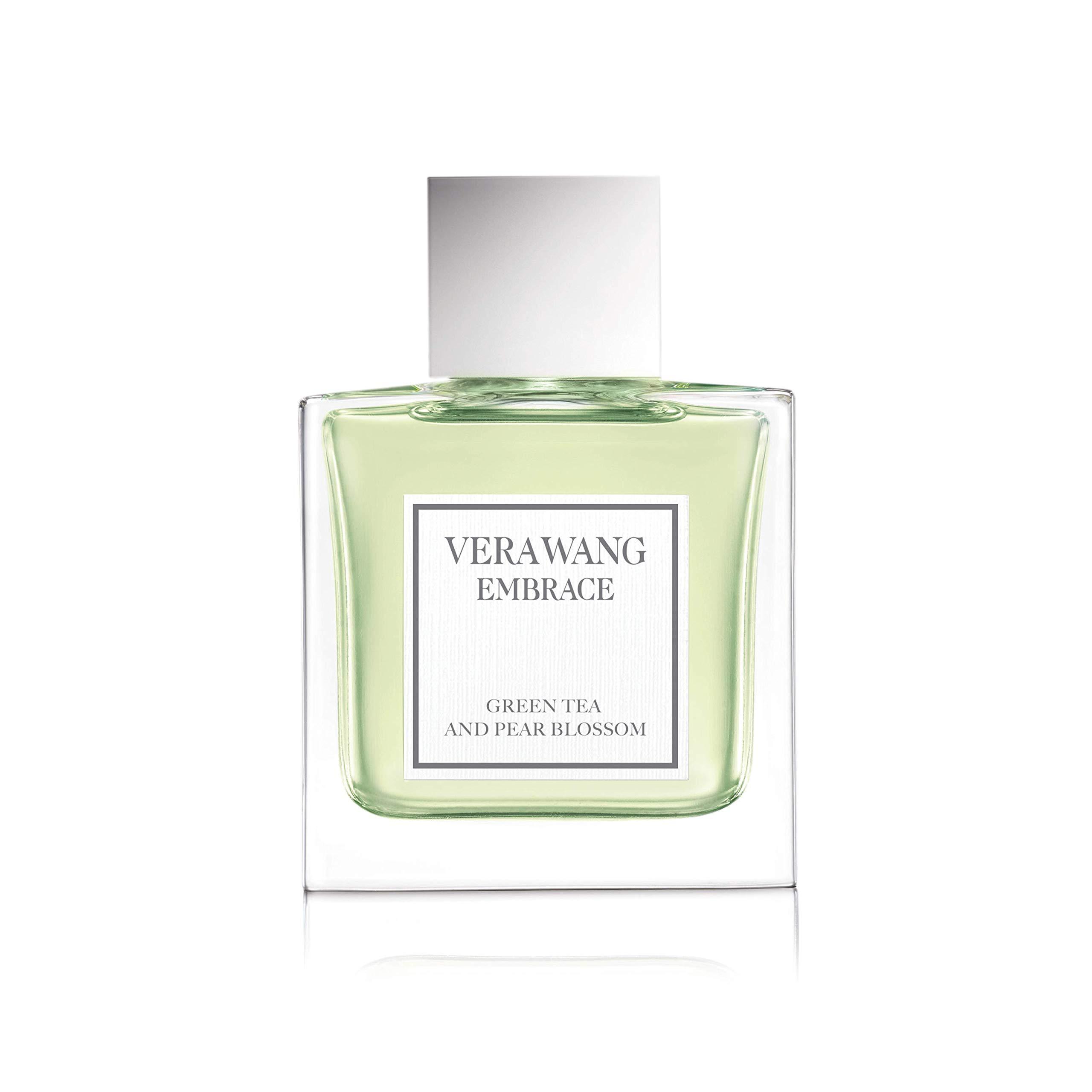 Vera Wang Embrace Eau de Toilette Spray for Women, Green Tea & Pear Blossom, Great Mother's Day Gift, 1 Fluid Ounce