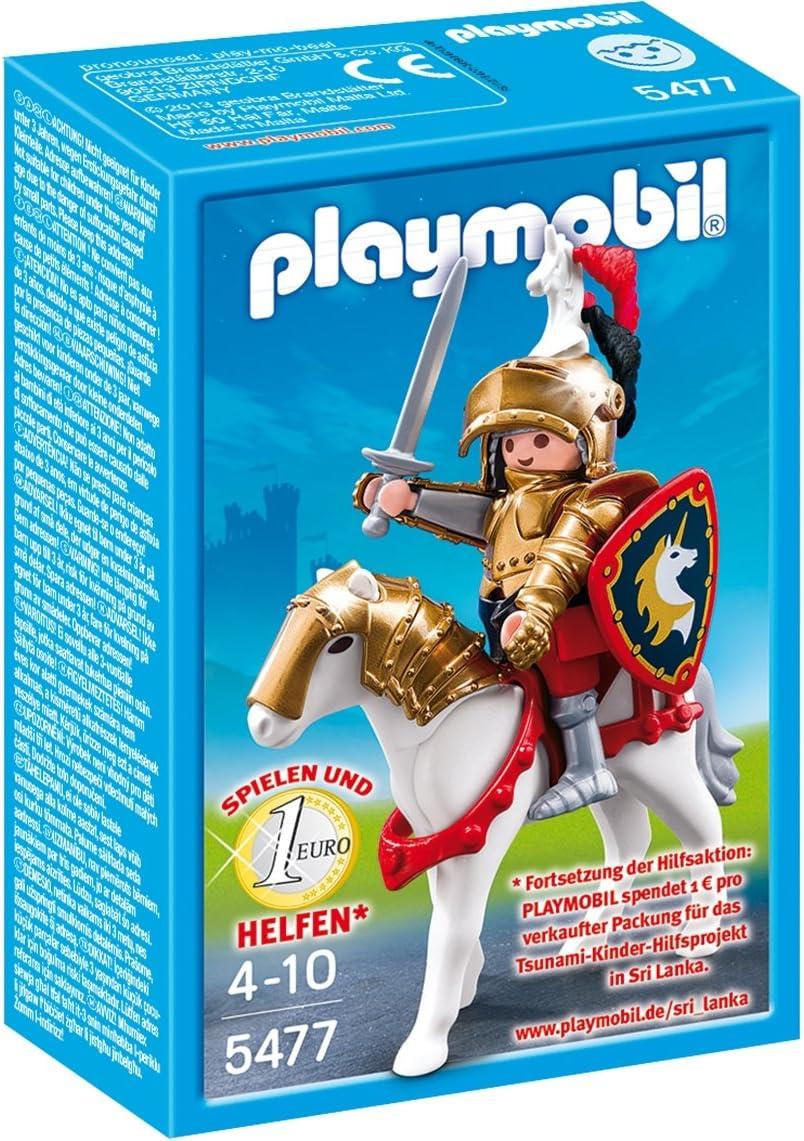 Playmobil - Caballeros - Caballero Dorado Christopher: Amazon.es: Juguetes y juegos