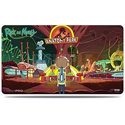 Ultra Pro Rick and Morty - Anatomy Park Tabletop Gaming Playmat & Storage Tube: Toys & Games