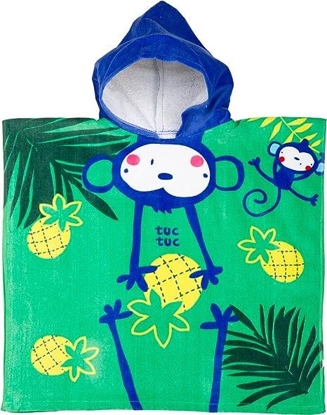 Tuc Tuc Isla Bonita - Poncho para niño
