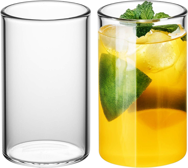 GAIWAN ICEGOLD330 x2: Set de 2 Vasos de Agua, Copa de Cóctel 33 Cl, 330 ml, 0.3