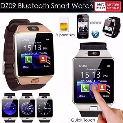 ab3a82cbcb5 Relógio Celular Smart Watch DZ09 C  Chip Câmera MP3 Foto Video Bluetooth