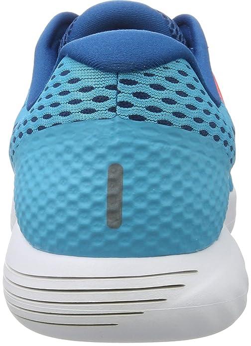 best loved 2bc87 4f29d Amazon.com   Nike Men s Lunarglide 8 Training Shoes, Blue (Chlorine Blue Binary  Blue-Industrial Blu), 10.5 UK   Road Running