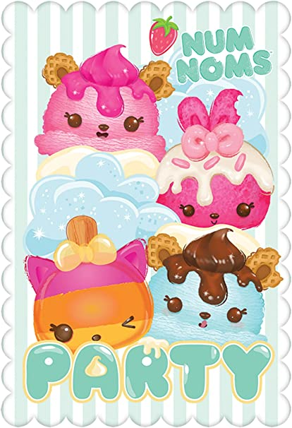 Party Accessory Multicolor 581766 Num Noms Collection Amscan Cups