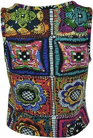 adidas Crochita Crop - Camiseta de Tirantes para Mujer