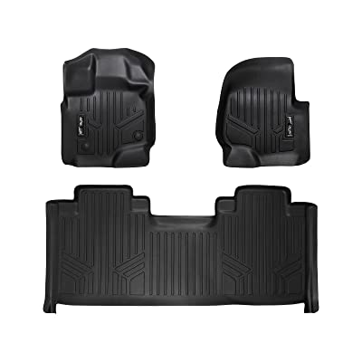 MAX LINER A0167/B0172 for 2015-2020 Ford F-150 SuperCab with 1st Row Bucket Seats, Black: Automotive