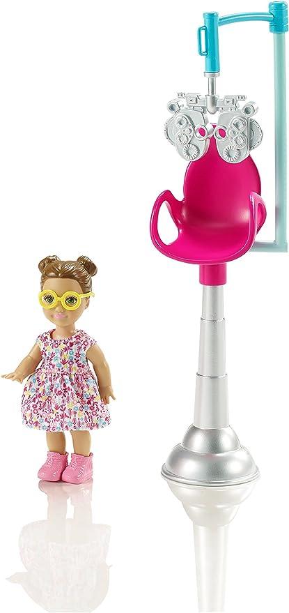 Amazon.es: Barbie - Muñeca, oftalmóloga (Mattel CMF42), color ...