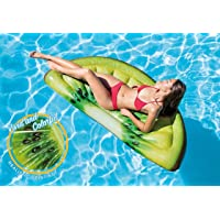 Intex Giant Inflatable 70 Inch Kiwi Slice Mat with Realistic Printing