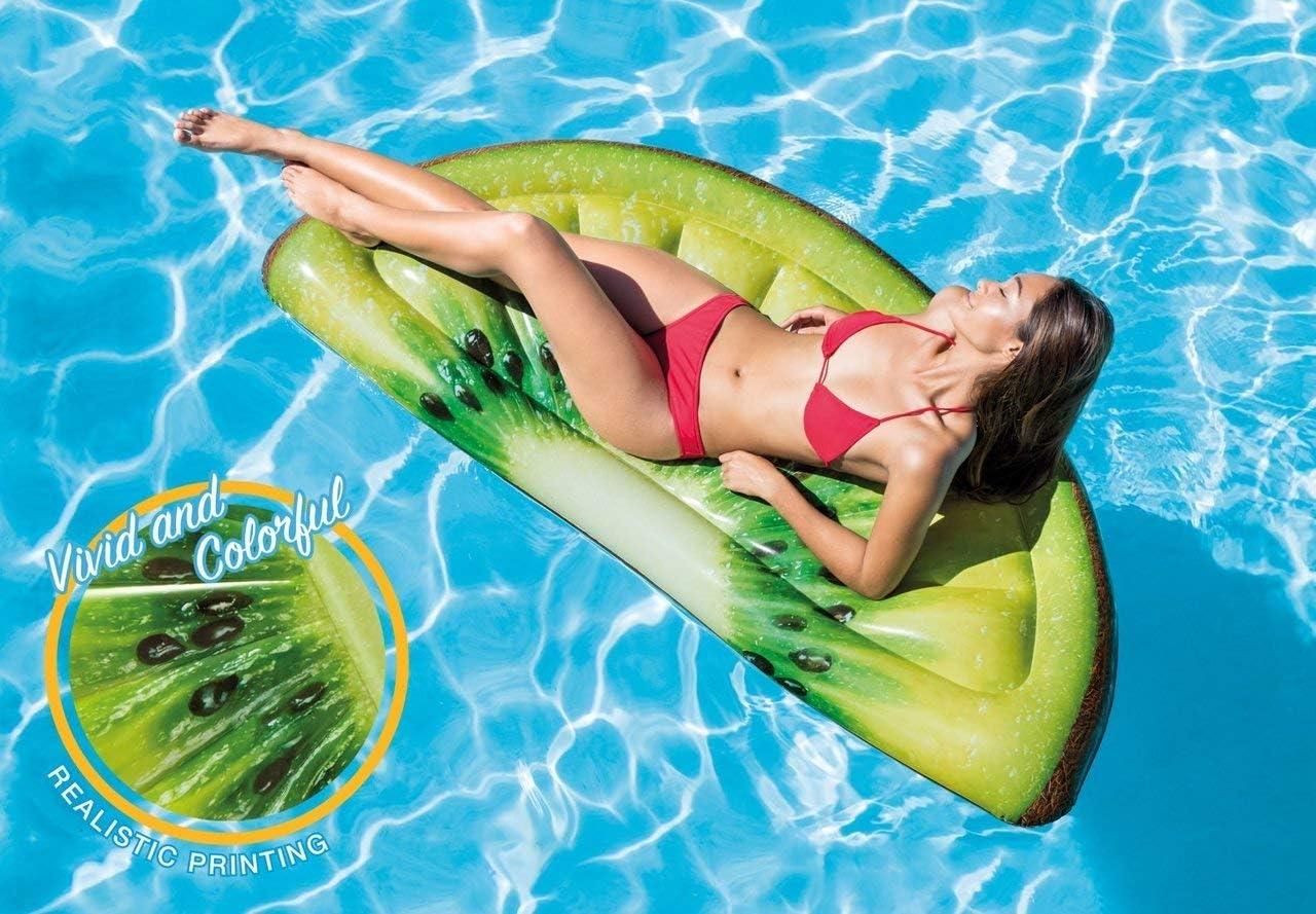 Choose Design Kiwi Slice Mat Surf and Skate Warehouse Pool Inflatable Ride-Ons//Mats