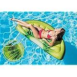 Intex Kiwi Slice 充气垫,带逼真印花,177.8 厘米 X 85.09 厘米