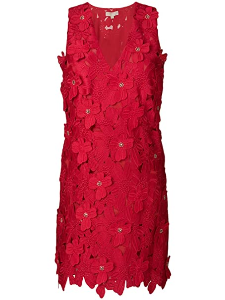 Michael Kors Abito Rosso MS88XXU8KT  Amazon.it  Abbigliamento 21554401c69
