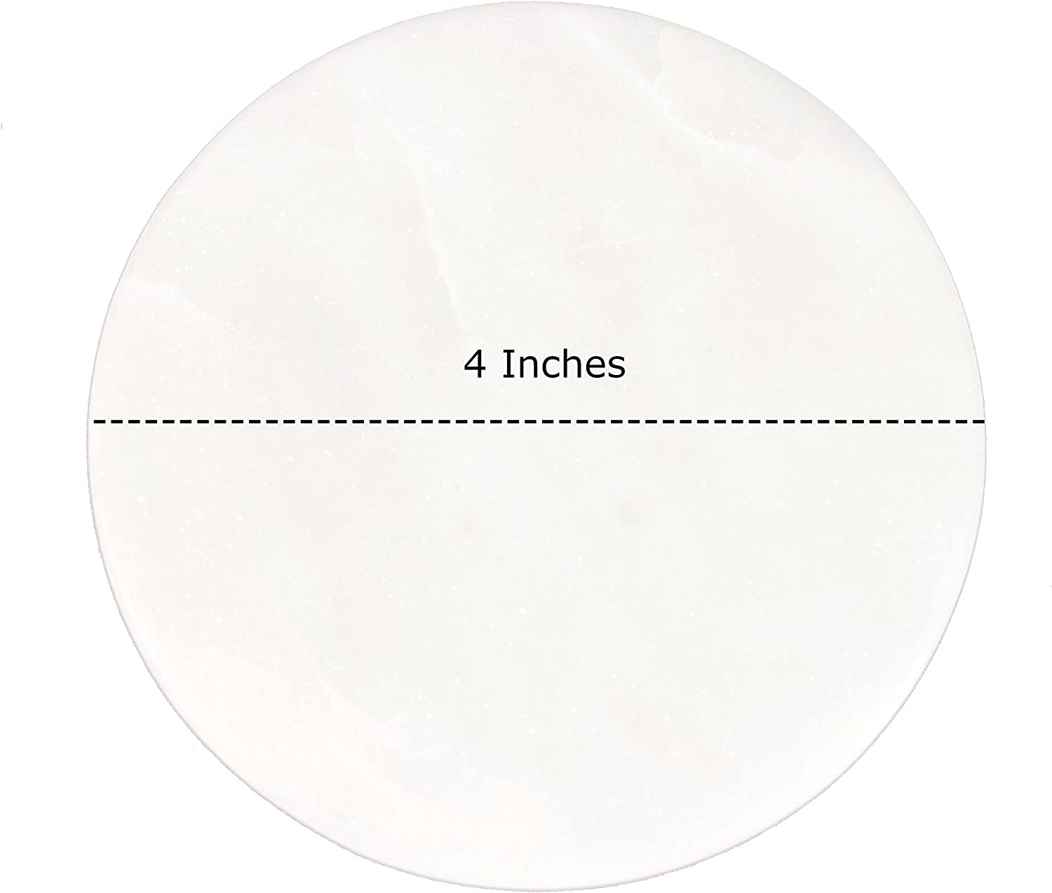 Midwest Exporters Set Of 4 White Marble Coasters Pattern Round Coaster 4 Inches In Diameter For Drinks Bar Housewarming Stone Gifts Home Décor Accents Coasters
