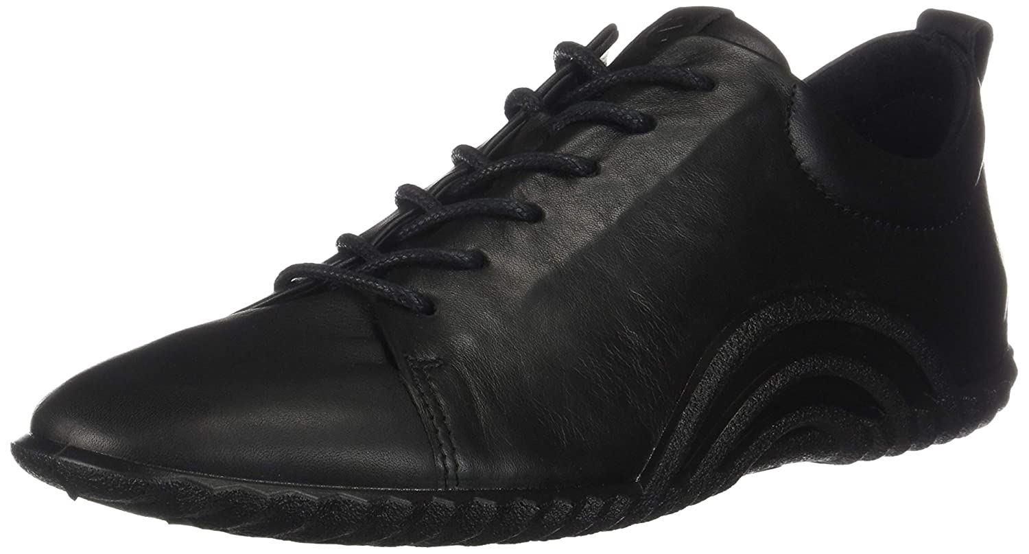 Black ECCO Womens Vibration 1.0 Lace Oxford