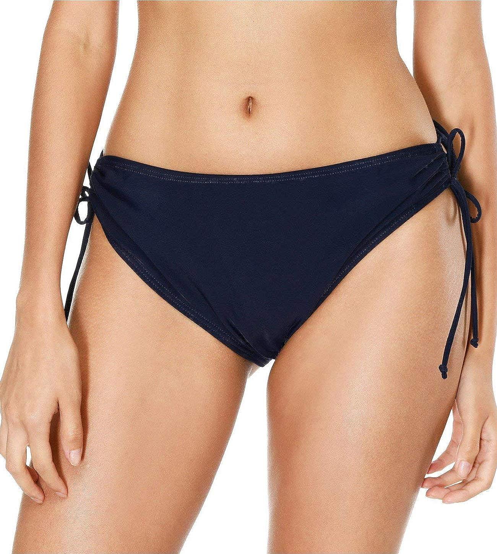 272ae910d9 Amazon.com: Stella Women's Bikini Bottoms Swimsuit Bottom Swimwear Briefs  Black Swim Shorts: Clothing
