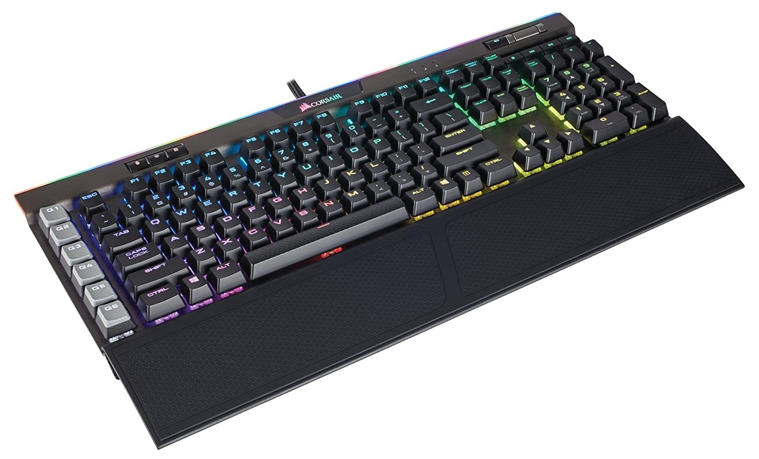 Amazon mechanical keyboard - Amazon Com Corsair Gaming K95 Rgb Platinum Mechanical Keyboard Cherry Mx Speed Gunmetal Ch 9127114 Na Computers Accessories