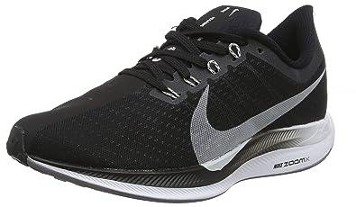 premium selection 6ad90 a54b0 Nike W Zoom Pegasus 35 Turbo Chaussures de Running Compétition Femme,  Multicolore (Black