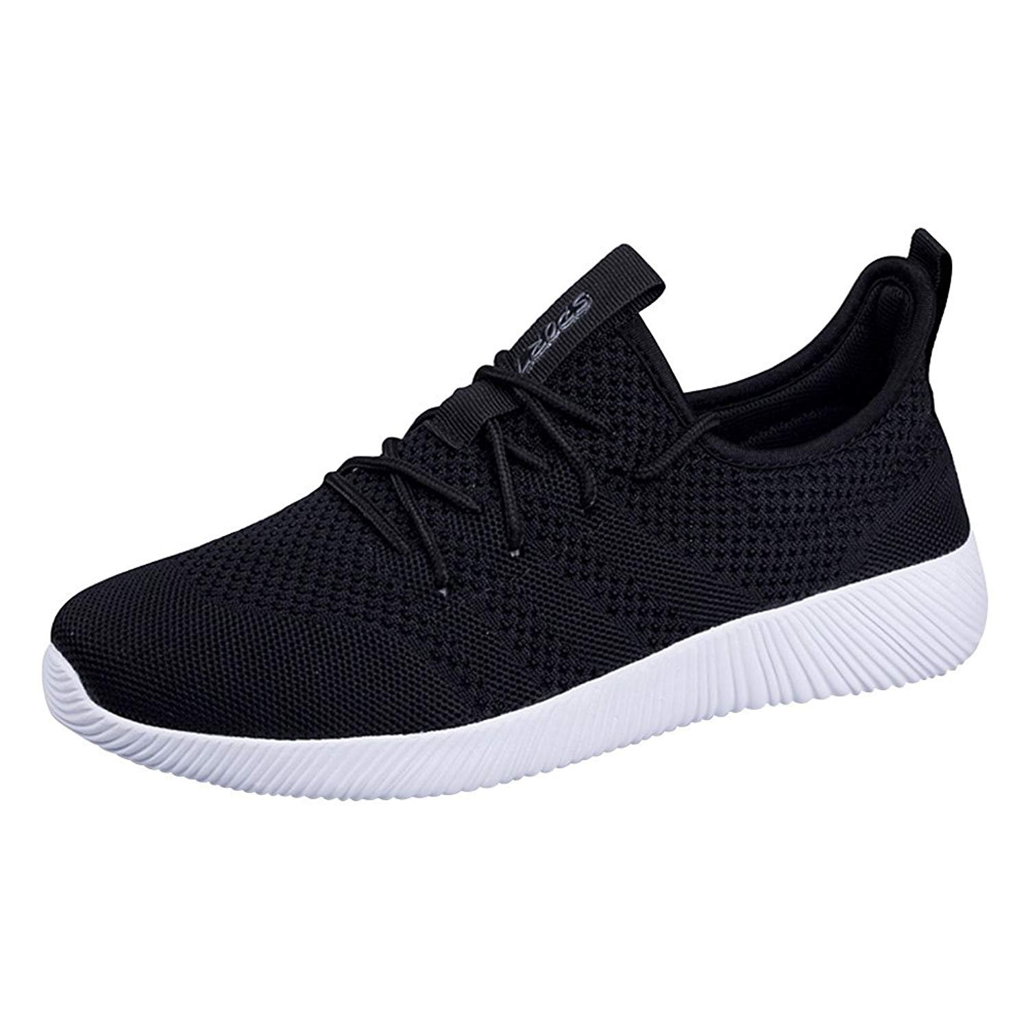7bb366a66b3ed Padcod Men's and Women's Running Shoes Fashion Breathable Flyknit Sneakers  Mesh Soft Sole Casual Athletic Lightweight