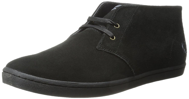 Fred Perry Byron Mid Suede, Zapatos de Cordones Oxford para Hombre