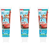 Crest Pro-Health Stages The World of Cars Toothpaste Fruit Burst 4.20 oz ( Pack of 3)
