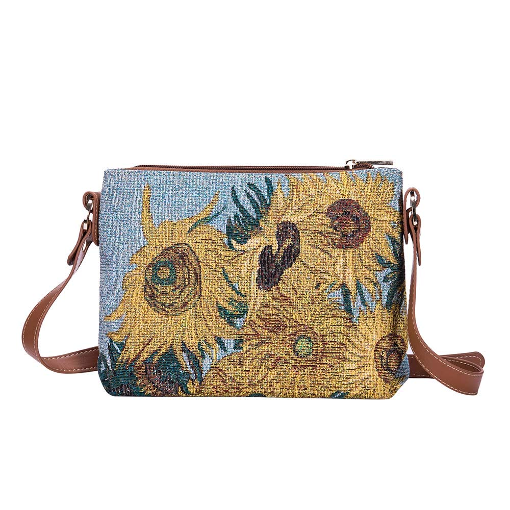 Signare Tapestry Collection of Vincent Van Gogh Sunflower Fashion Bags