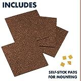 "Quartet Cork Board Tiles, 12"" x"