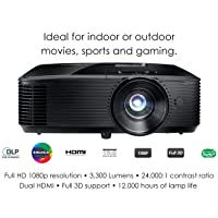 Deals on Optoma Bright Full HD 1080P Projector HD243X Refurb