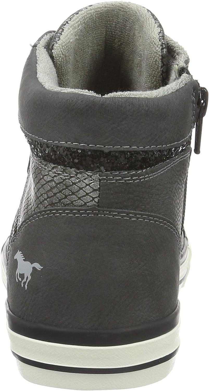 2GO 1146-508-259, Baskets Hautes Femme Gris 259 Graphit