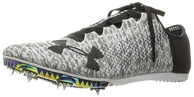 new concept a77b0 5f245 Under Armour Speedform Miler Pro Athletic Shoe, White (100) Black, 5.5