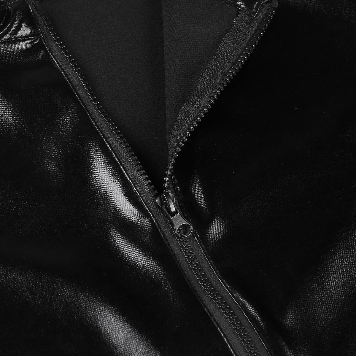 c56da02774 Bekleidung YiZYiF Herren Body Latex Unterwäsche Unterhemd Overall Männer  Wetlook Bodysuit Jumpsuit Lange Hose Pants Schwarz Herren