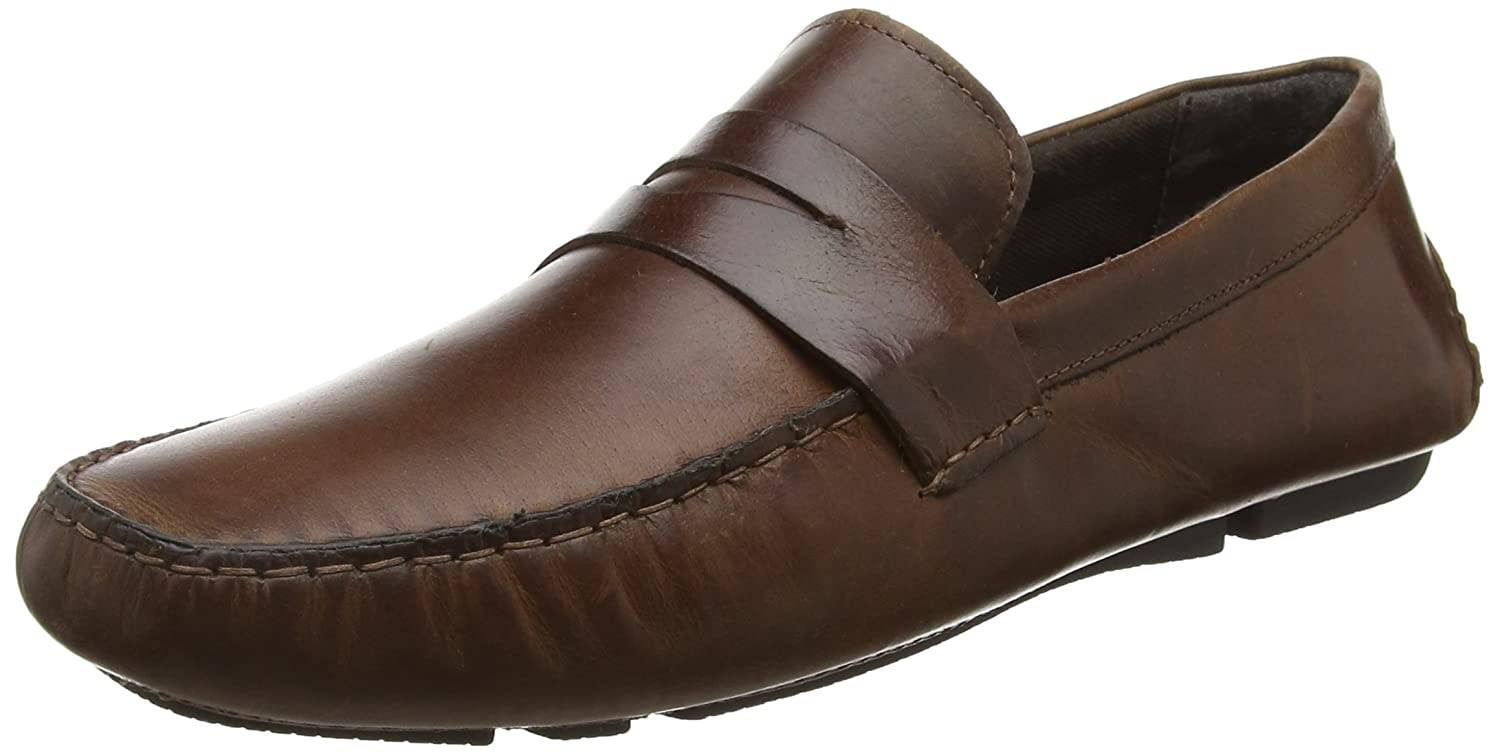 Red Tape Cranfield, Mocasines Hombre 43 EU|Marrón (Tan Leather)