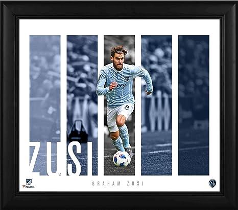 2818e0fa93d Graham Zusi Sporting Kansas City Framed 15 quot  x 17 quot  Player Panel  Collage - Soccer