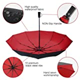 Portable Double Canopy Umbrella,Extra Large