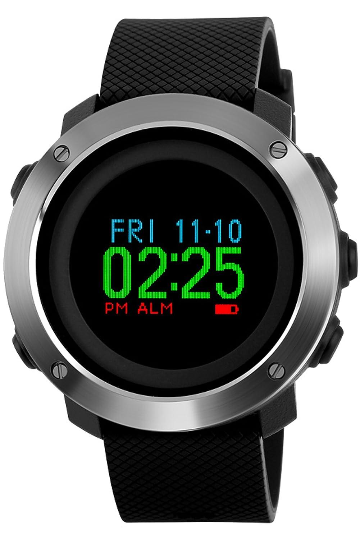 メンズデジタルコンパスアウトドアスポーツウォッチWaterpoof歩数計Military電子Watches B07B5XKGJ5 B07B5XKGJ5, 『3年保証』:693f36f0 --- arvoreazul.com.br