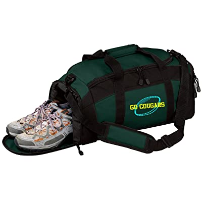 Personalized Football Gym Sports Duffel Bag (Hunter)