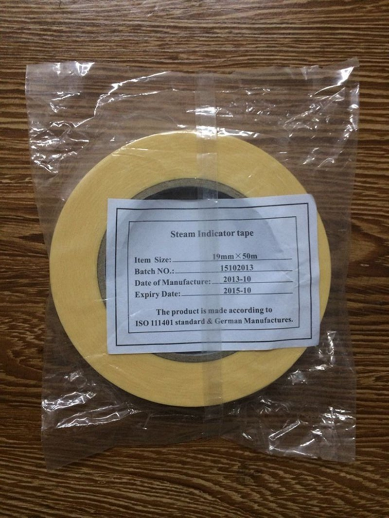 1 Roll Dental Products Autoclave Sterilization Indicator Tape Supply 19mmx50M