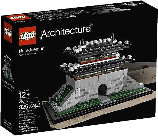 LEGO Architecture Sungnyemun 325pieza(s) - Juegos de construcción (Cualquier género, Multi): LEGO: Amazon.es: Juguetes y juegos
