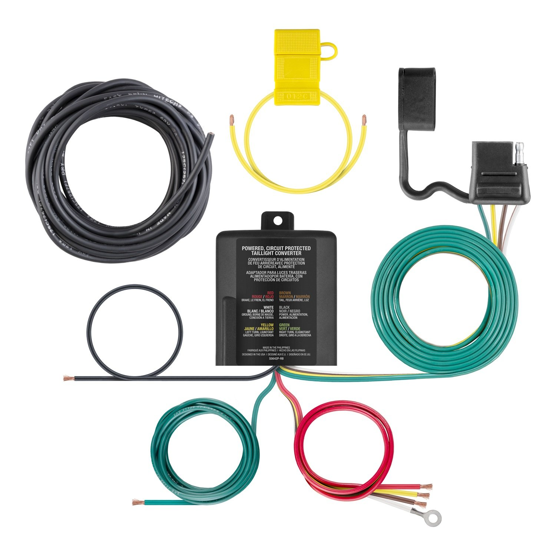 Amazon.com: CURT 59236 Multi-Function Taillight Converter Kit ...